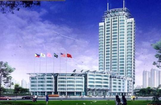 项目名称:西安留学生创业园(创业广场) 位于:西安高新开发区高新四路