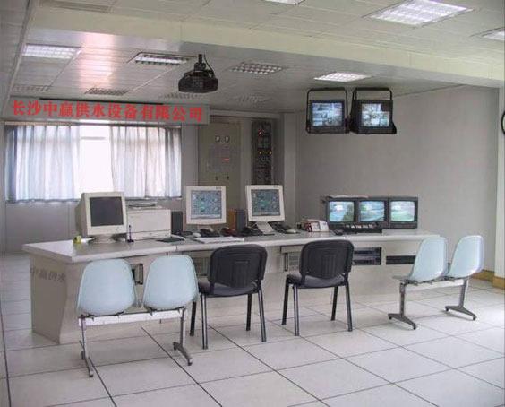 长沙中赢供水设备有限公司远程监控室