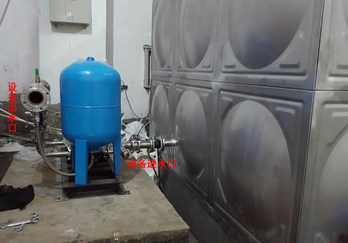 变频恒压供水设备增加自来水压力